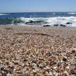 szklana plaża